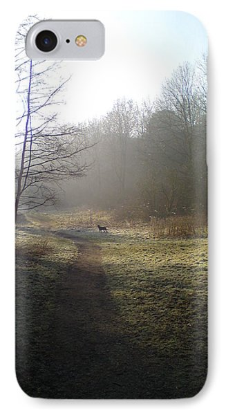 Autumn Morning 4 Phone Case by David Stribbling