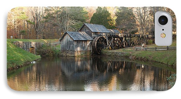 IPhone Case featuring the photograph Autumn Morning At Mabry Mill by Carol Lynn Coronios