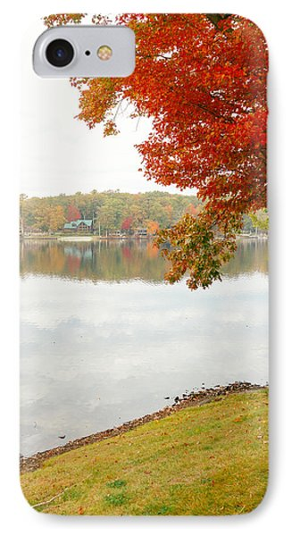 Autumn Morning At The Lake - Pocono Mountains - Pennsylvania IPhone Case by Vivienne Gucwa