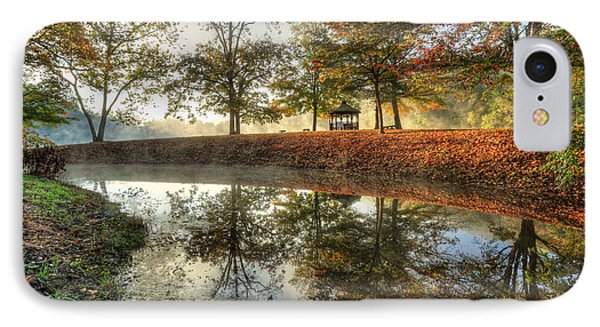 Autumn Morning IPhone Case by Jaki Miller