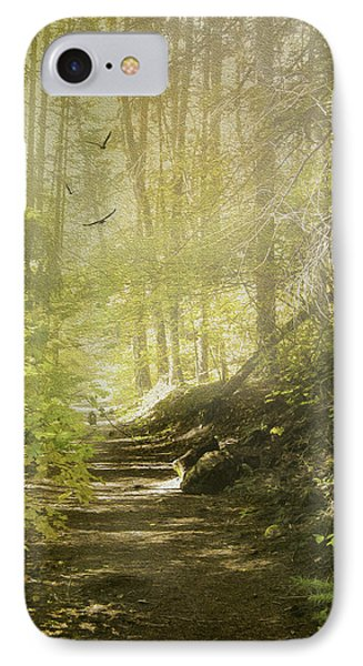 Autumn Myst IPhone Case by Diane Schuster