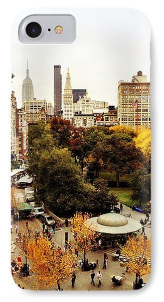 Autumn - New York Phone Case by Vivienne Gucwa