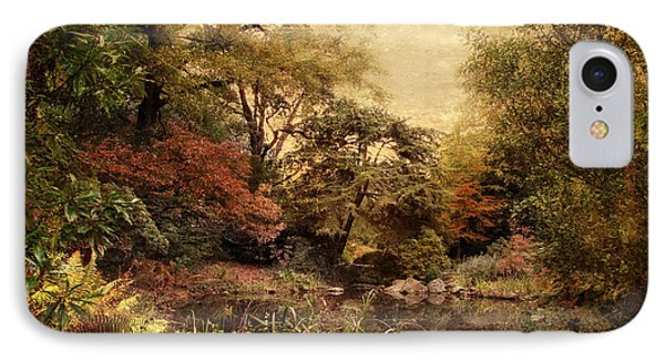 IPhone Case featuring the photograph Autumn On Canvas by Jessica Jenney