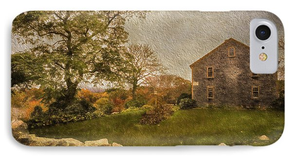 Autumn On Cape Cod  IPhone Case by Michael Petrizzo