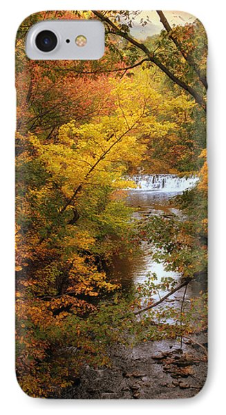 IPhone Case featuring the photograph Autumn On Display by Jessica Jenney
