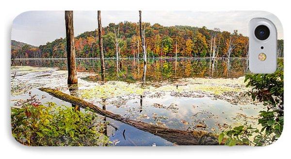 Autumn On Monksville Reservoir - Long Pond Ironworks Phone Case by Gary Heller