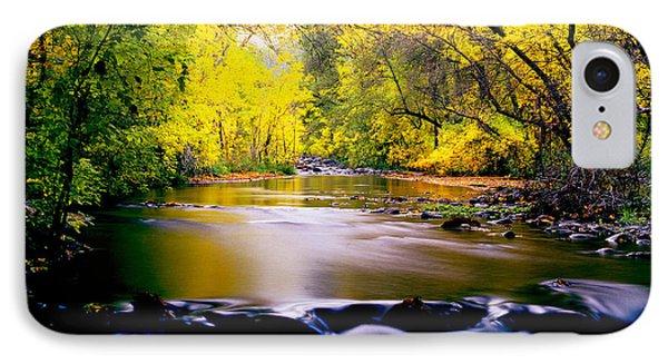 Autumn On Oak Creek IPhone Case