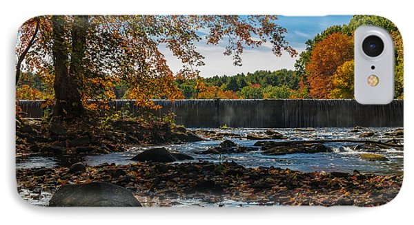 Autumn On The Assabet IPhone Case by Mark Raymond