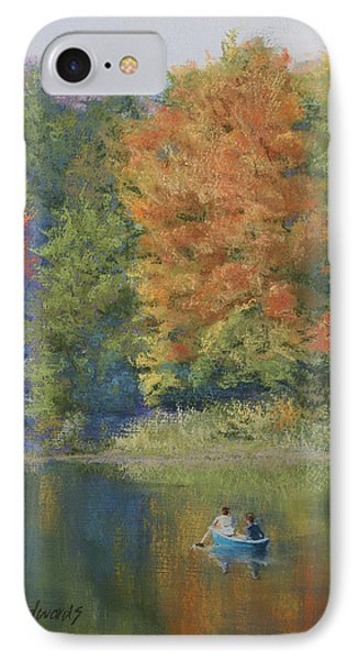 Autumn On The Lake Phone Case by Marna Edwards Flavell