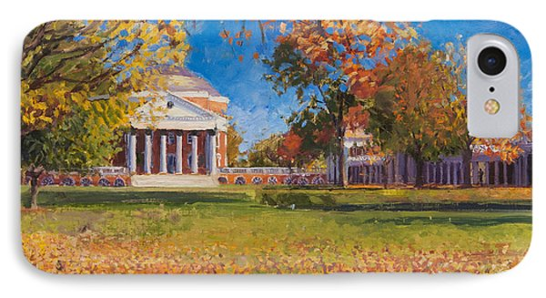 Autumn On The Lawn IPhone 7 Case