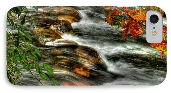 Autumn On The River Phone Case by Randy Hall