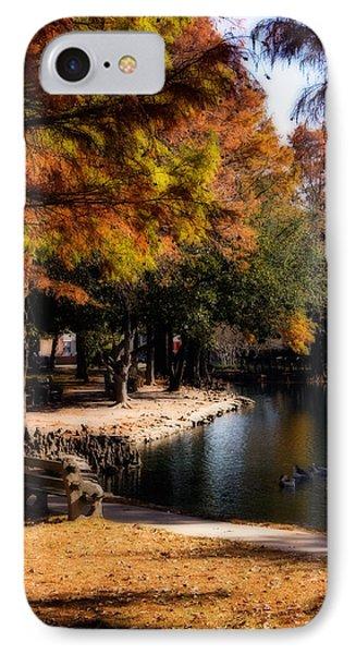 Oklahoma University iPhone 7 Case - Autumn On Theta by Lana Trussell