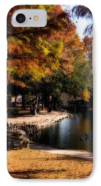 Autumn On Theta IPhone Case by Lana Trussell