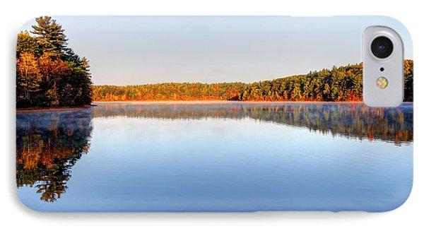 Autumn On Walden Pond IPhone Case by Denis Tangney Jr