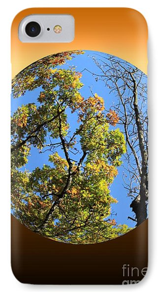 Autumn Opens Up Phone Case by Rick Rauzi
