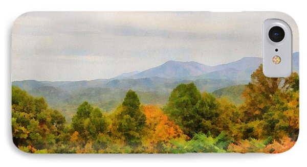 Autumn Palette In The Smokies IPhone Case by Dan Sproul