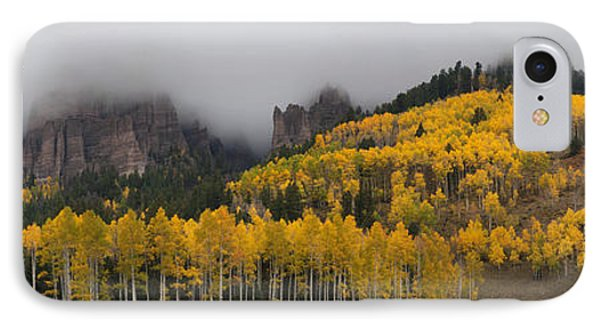 Autumn Panoramic IPhone Case by Morris  McClung
