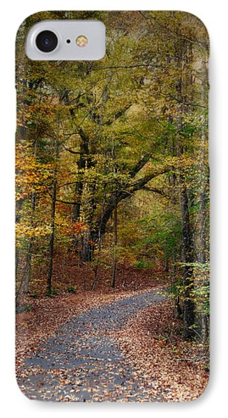 Autumn Passage 5 - Fall Landscape Scene IPhone Case