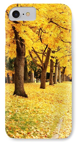 Autumn Perspective Phone Case by Carol Groenen