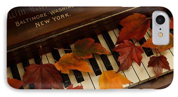 Autumn Piano 14 IPhone Case