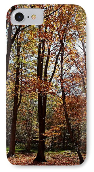 IPhone Case featuring the photograph Autumn Picnic by Debbie Oppermann