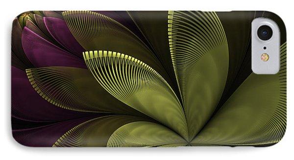 IPhone Case featuring the digital art Autumn Plant II by Gabiw Art