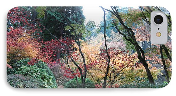 Autumn Portland  IPhone Case by Marlene Rose Besso