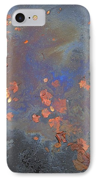 Autumn Puddle IPhone Case by John Norman Stewart