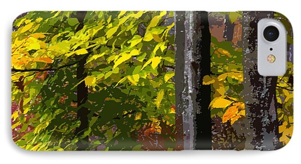 IPhone Case featuring the photograph Autumn  by Randy Pollard