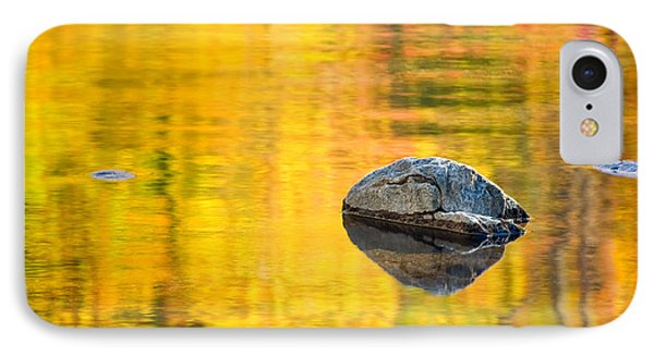 Autumn Reflected IPhone Case by Joan Herwig