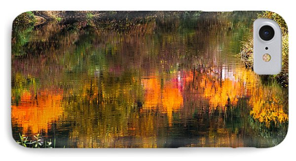 IPhone Case featuring the photograph Autumn Reflection by Crystal Hoeveler