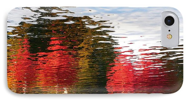 IPhone Case featuring the photograph Autumn Reflection In Elliot Bay by Karen Molenaar Terrell