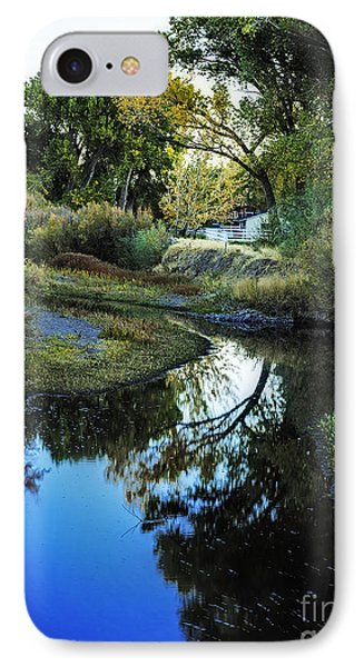 Autumn Reflection IPhone Case by Nancy Marie Ricketts