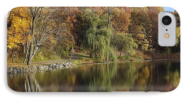 IPhone Case featuring the photograph Autumn Reflections by Bill Woodstock