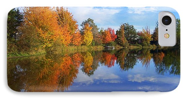 Autumn Reflections IPhone Case by Brian Chase