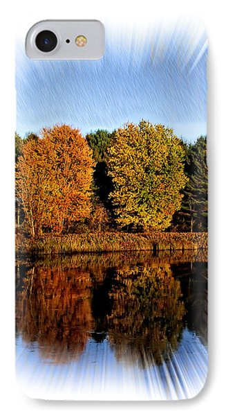 Autumn Reflections IPhone Case by Constantine Gregory