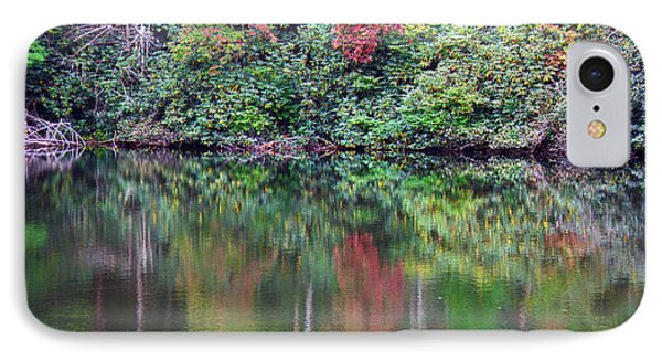 Autumn Reflections IPhone Case by Melissa Petrey