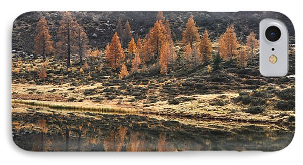 Autumn Reflections IPhone Case by Simona Ghidini