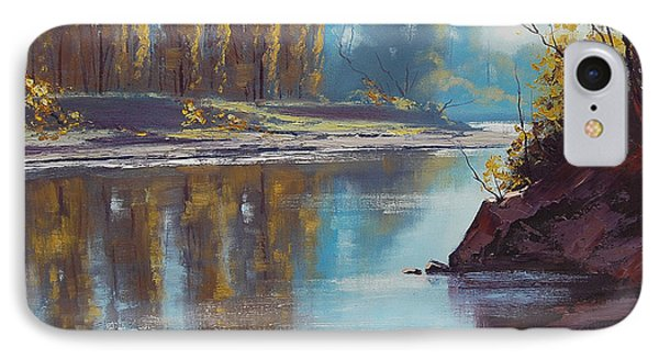 Autumn Reflections Tumut River IPhone Case by Graham Gercken