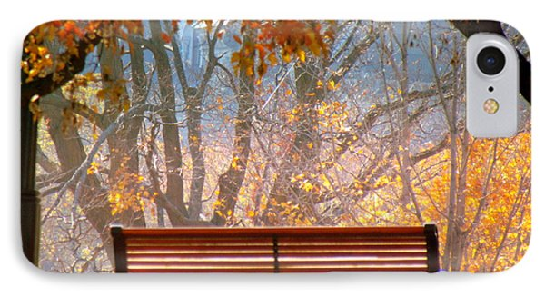 IPhone Case featuring the photograph Autumn Retreat by France Laliberte