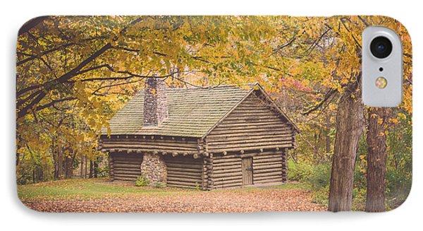 Autumn Retreat IPhone Case by Sara Frank