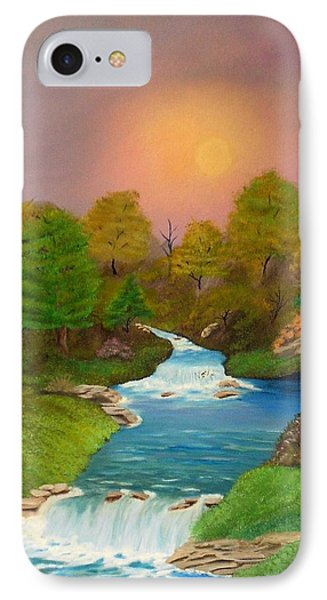 Autumn Retreat IPhone Case by Sheri Keith