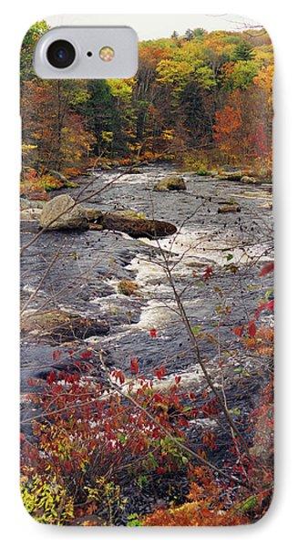 Autumn River Phone Case by Joann Vitali