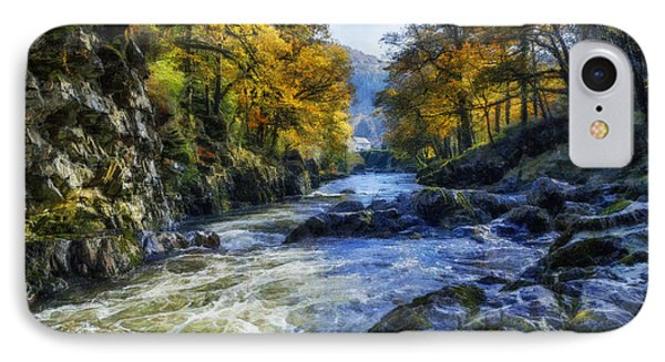 Autumn River Valley IPhone Case by Ian Mitchell
