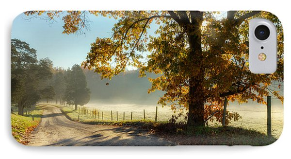 Autumn Road Phone Case by Bill Wakeley