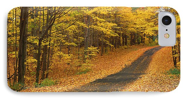 Autumn Road, Emery Park, New York IPhone Case