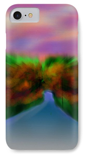 Autumn Road Phone Case by Frank Bright