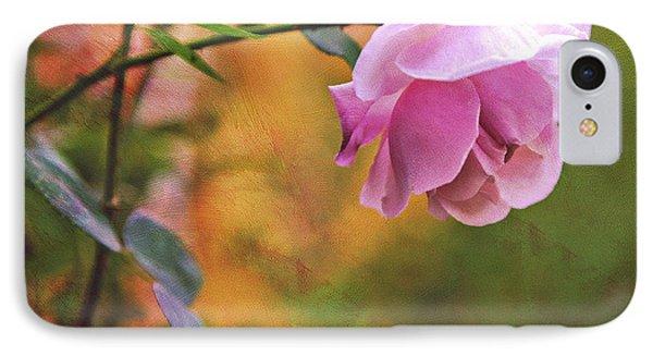 Autumn Rose Phone Case by Theresa Tahara