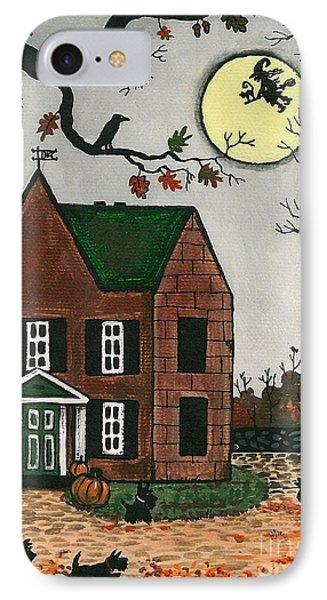 Autumn Scotties Phone Case by Margaryta Yermolayeva
