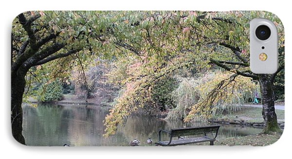 Autumn Serenity IPhone Case by Brian Chase